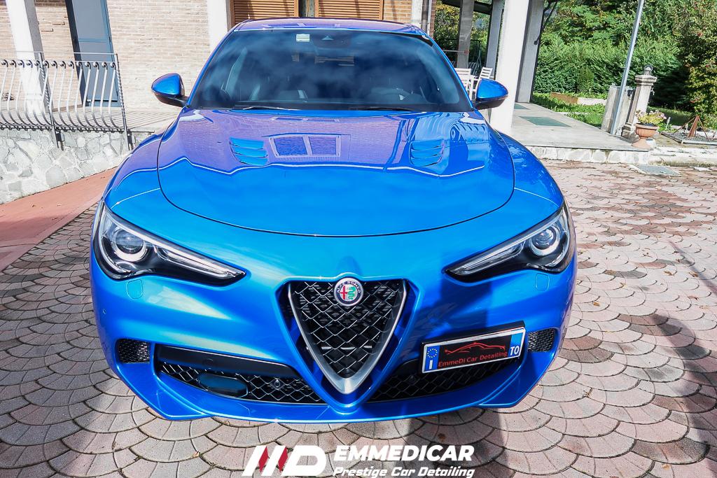ALFA ROMEO STELVIO QUADRIFLOGLIO, car detailing,