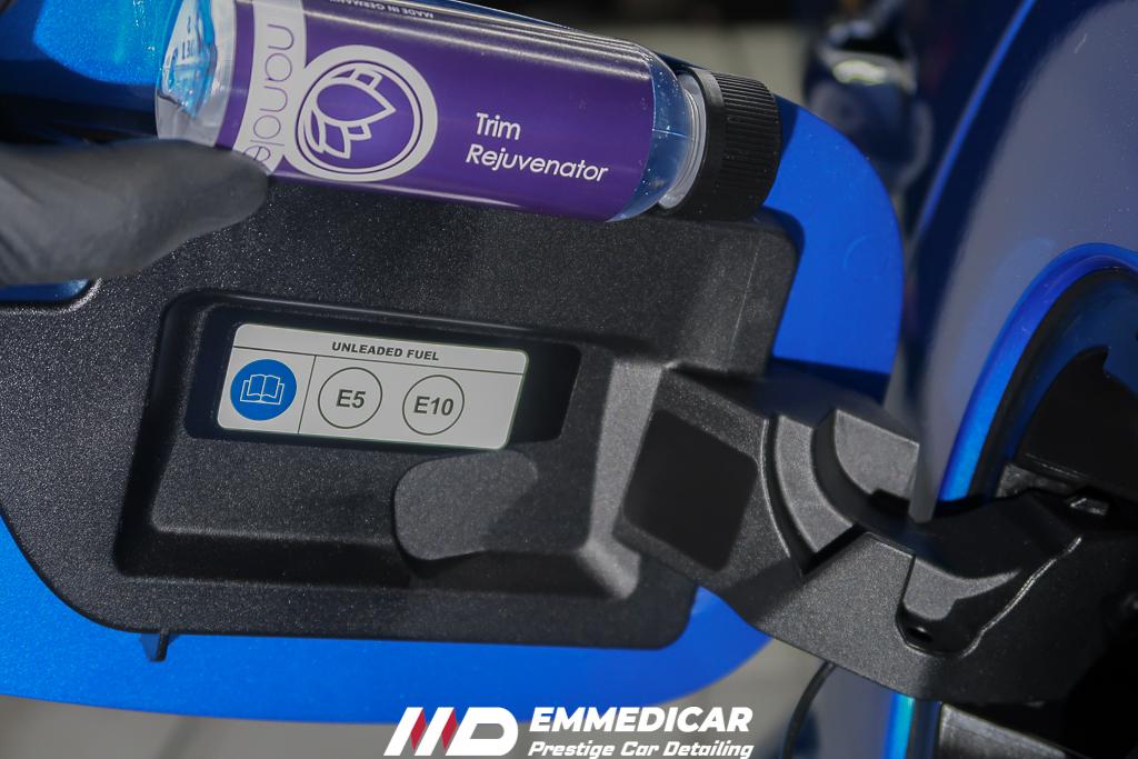 ALFA ROMEO STELVIO QUADRIFLOGLIO, applicazione ravvivante plastiche auto,