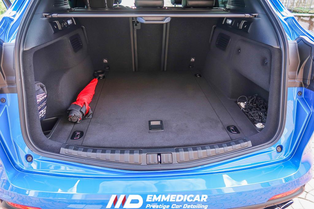 ALFA ROMEO STELVIO QUADRIFLOGLIO, igienizzazione interni auto,