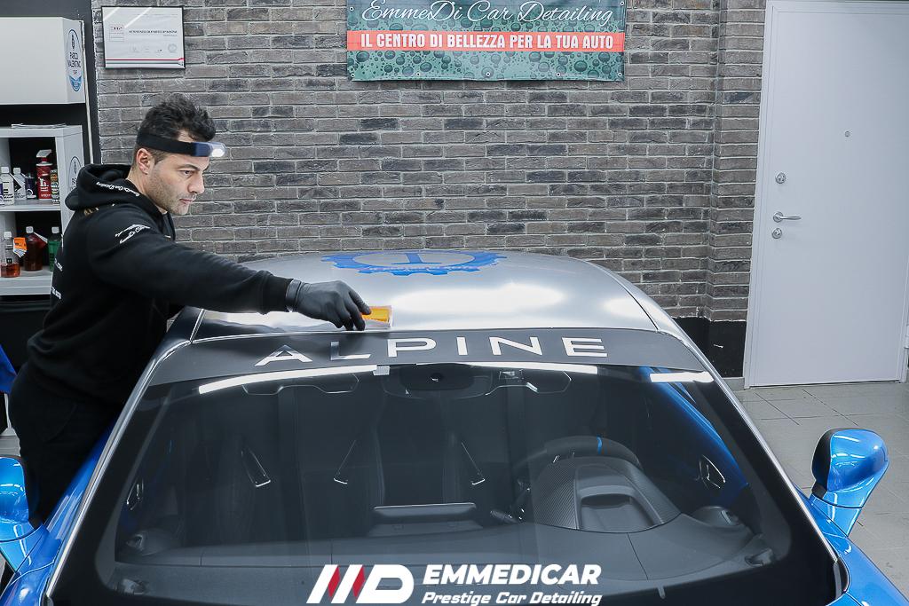 ALPINE S4, applicazione nanotecnologia auto