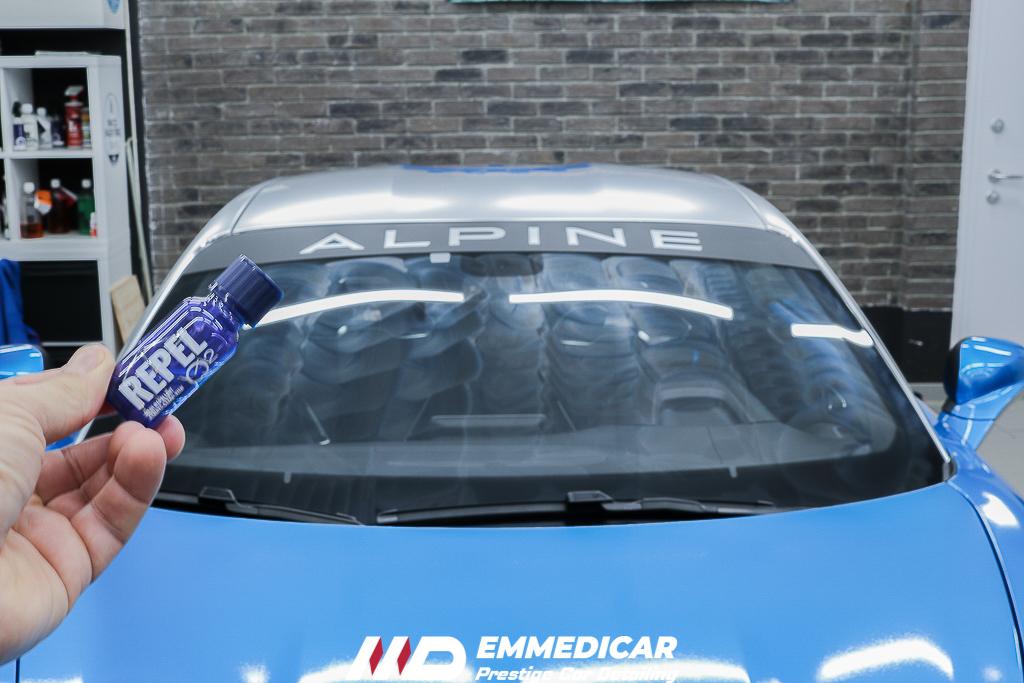 ALPINE S4, nanotecnologia vetri auto