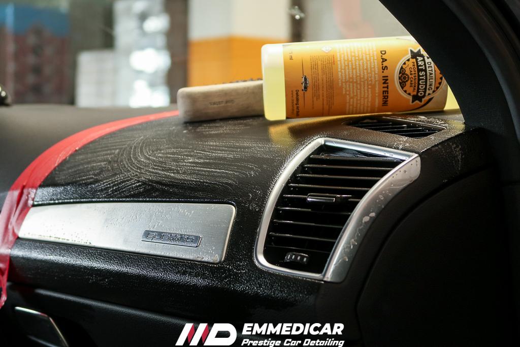 AUDI Q5, sanificazione interni auto,