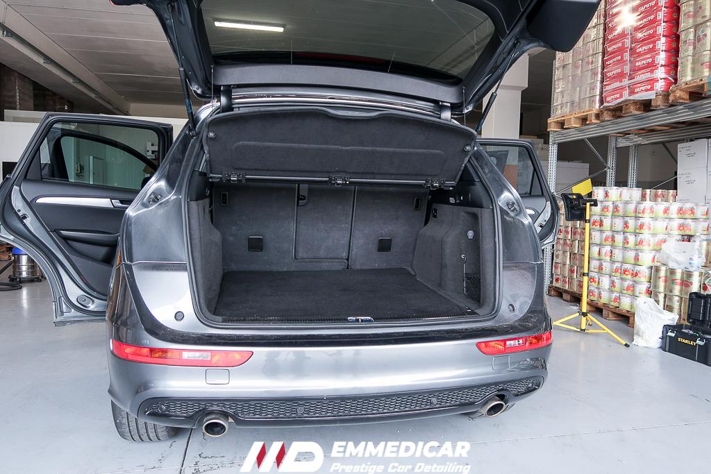 AUDI Q5, risultato dopo car detailing,