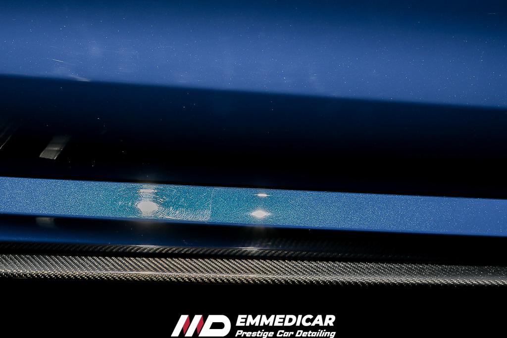 AUDI RS6, lucidatura graffi auto
