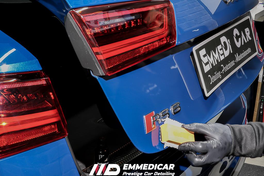 AUDI RS6, applicazione carpro