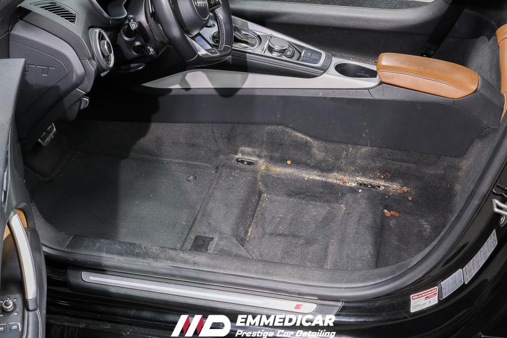 AUDI TTS, igienizzazione auto