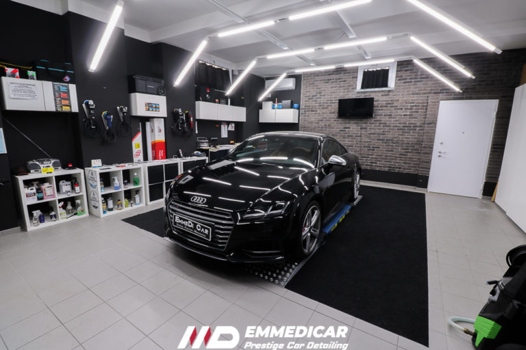 AUDI TTS, car detailing