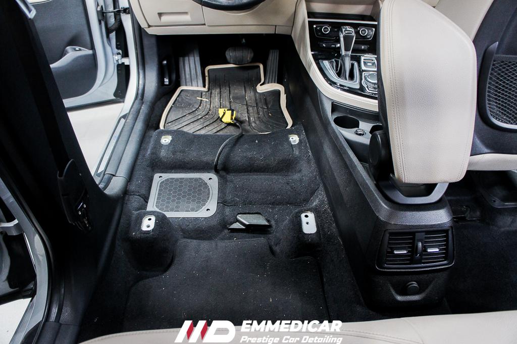 BMW 225 IBRID, IGIENIZZAZIONE INTERNI AUTO