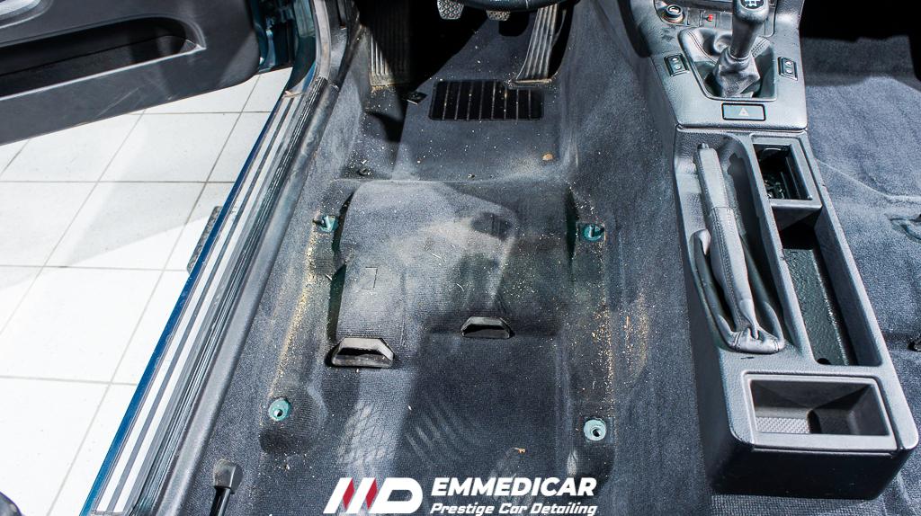 bmw 318 is, disinfezione abitacolo auto