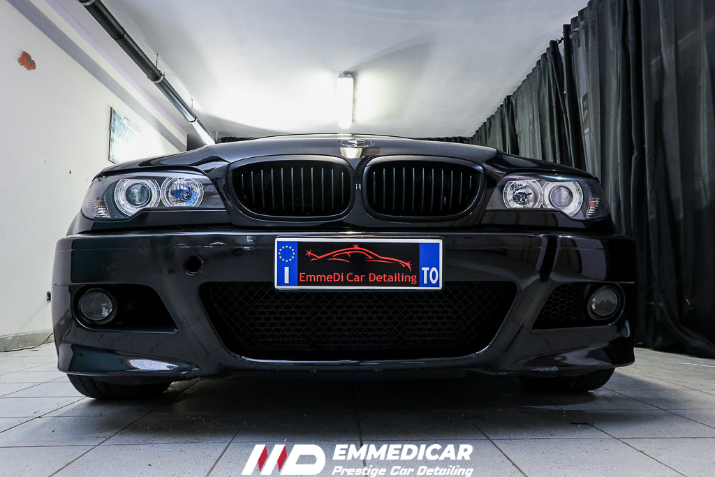 BMW 320D COUPE, risultato finale car detailing
