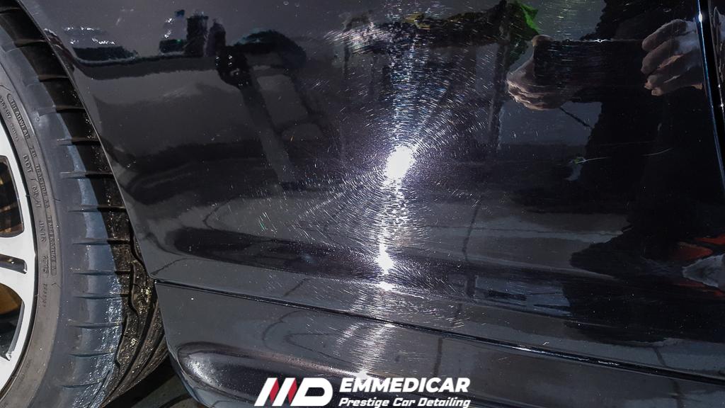 BMW 320D COUPE, rimozione graffi auto,