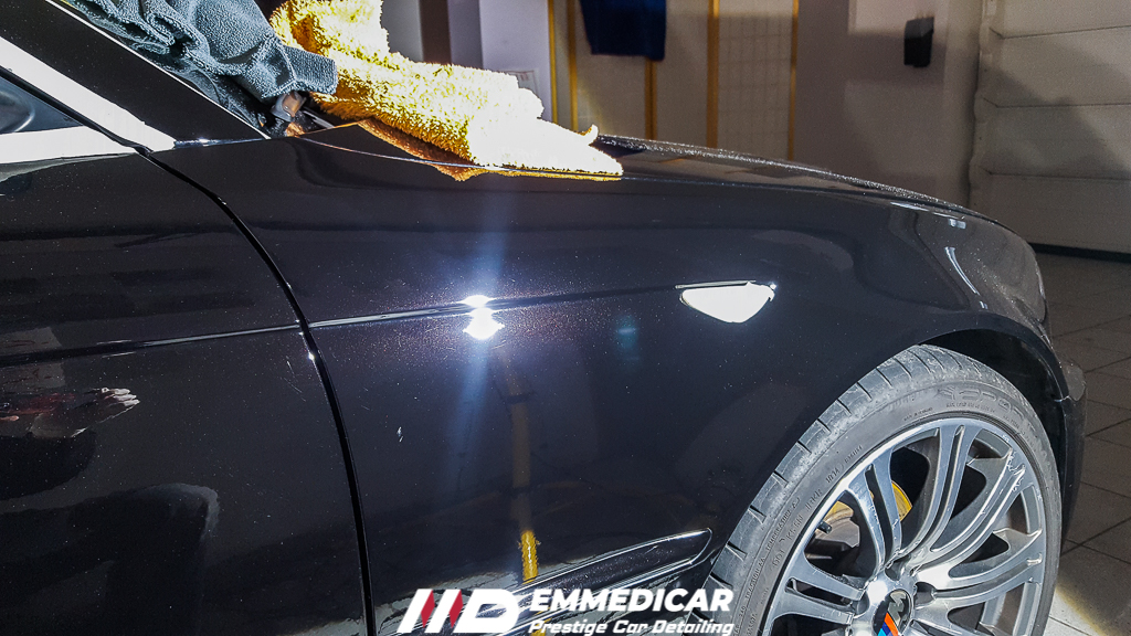 BMW 320D COUPE, lucidatura professionale auto,
