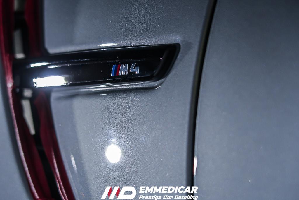 BMW M4, rimozione graffi auto