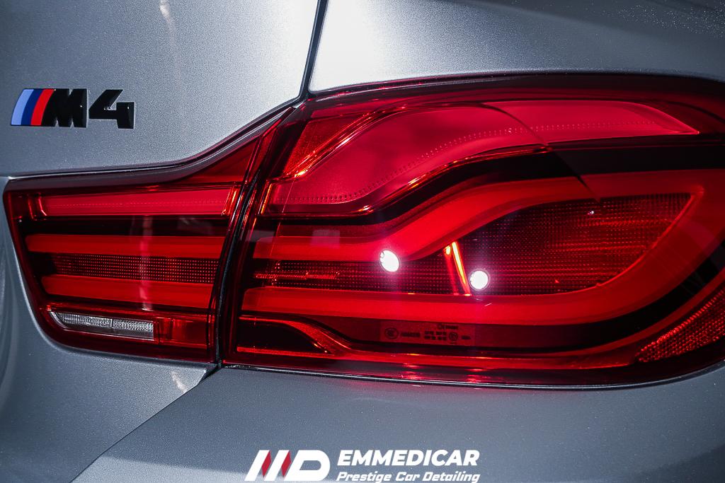 BMW M4, lucidatura swirls auto