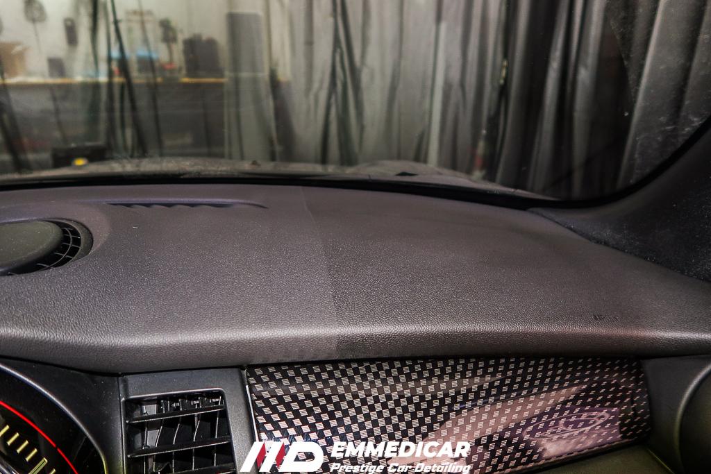 BMW MINI COOPER S JCW, trattamento plastiche auto,