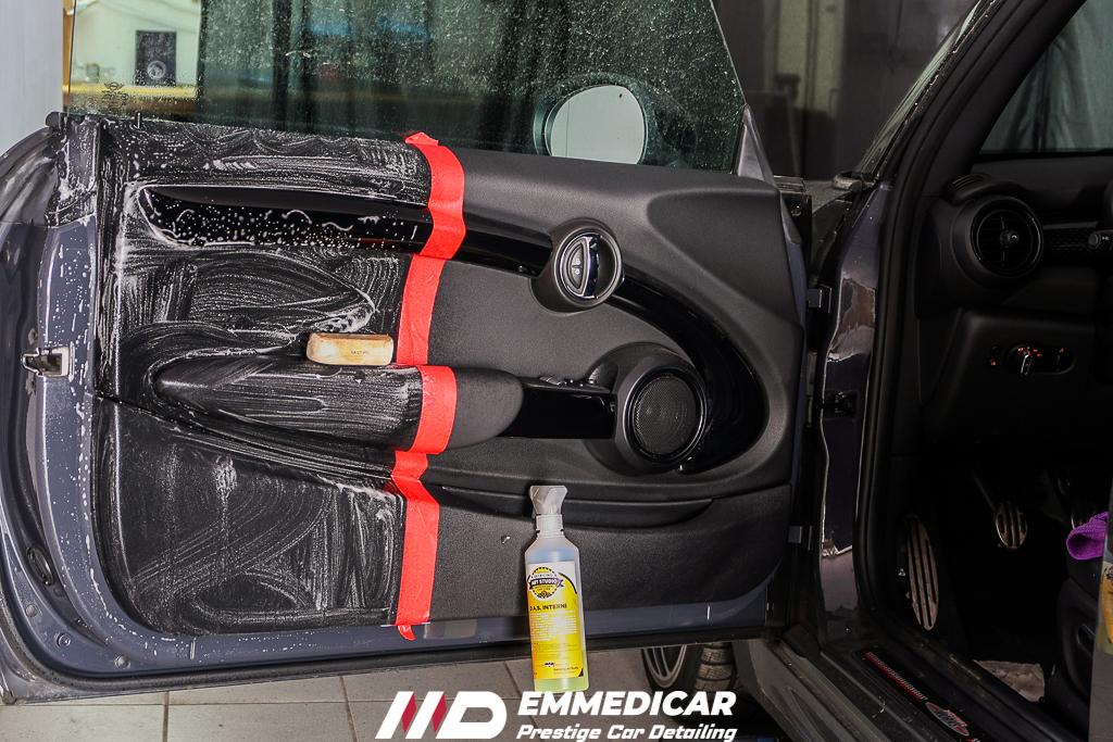 BMW MINI COOPER S JCW, igienizzazione interni auto,