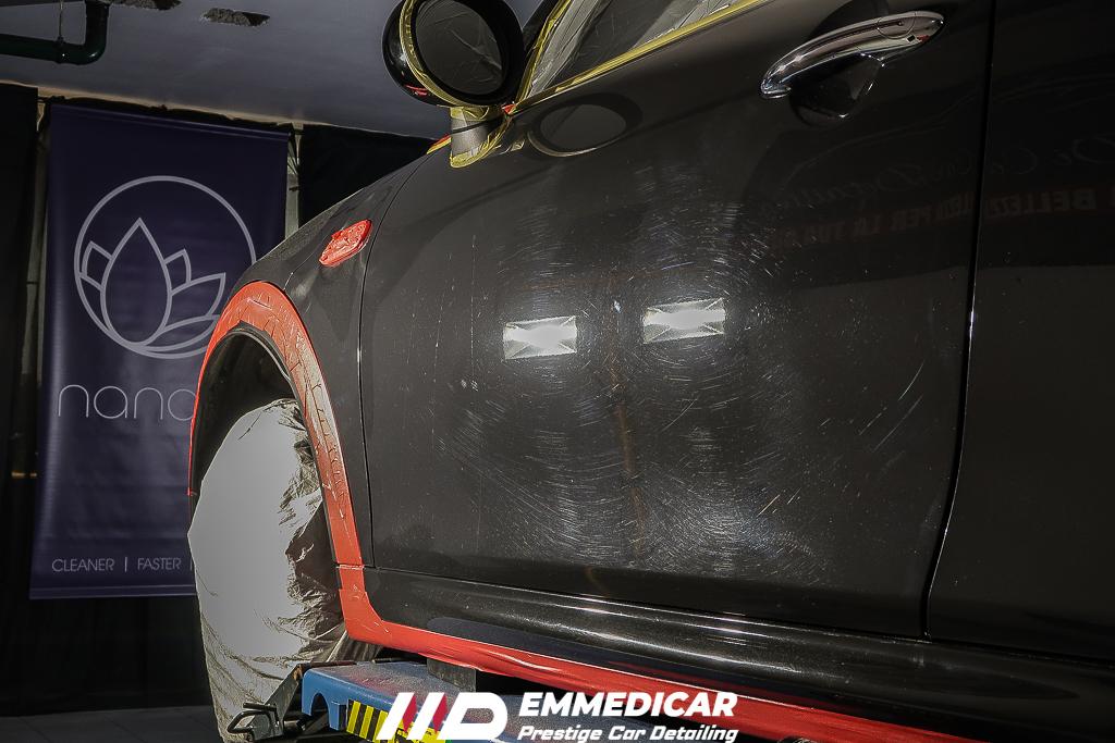 BMW MINI COOPER S JCW, rimozione graffi auto,