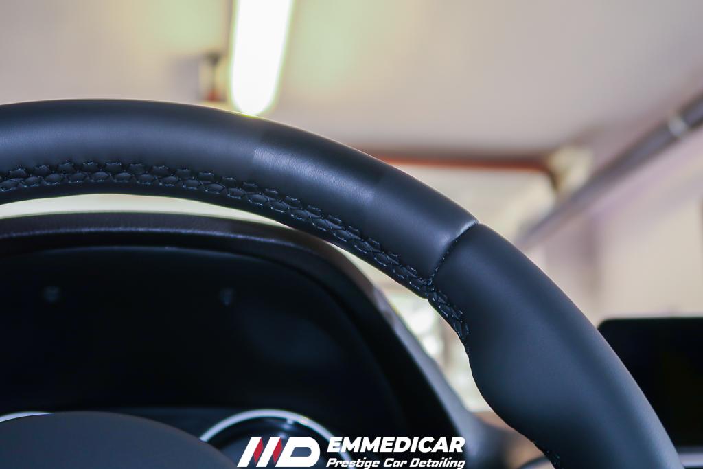 BMW SERIE 1 120d, trattamento volante auto,