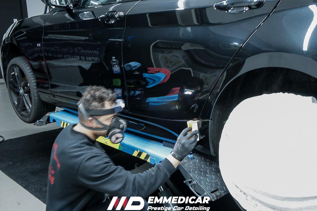BMW SERIE1 120D, applicazione nanotecnologia