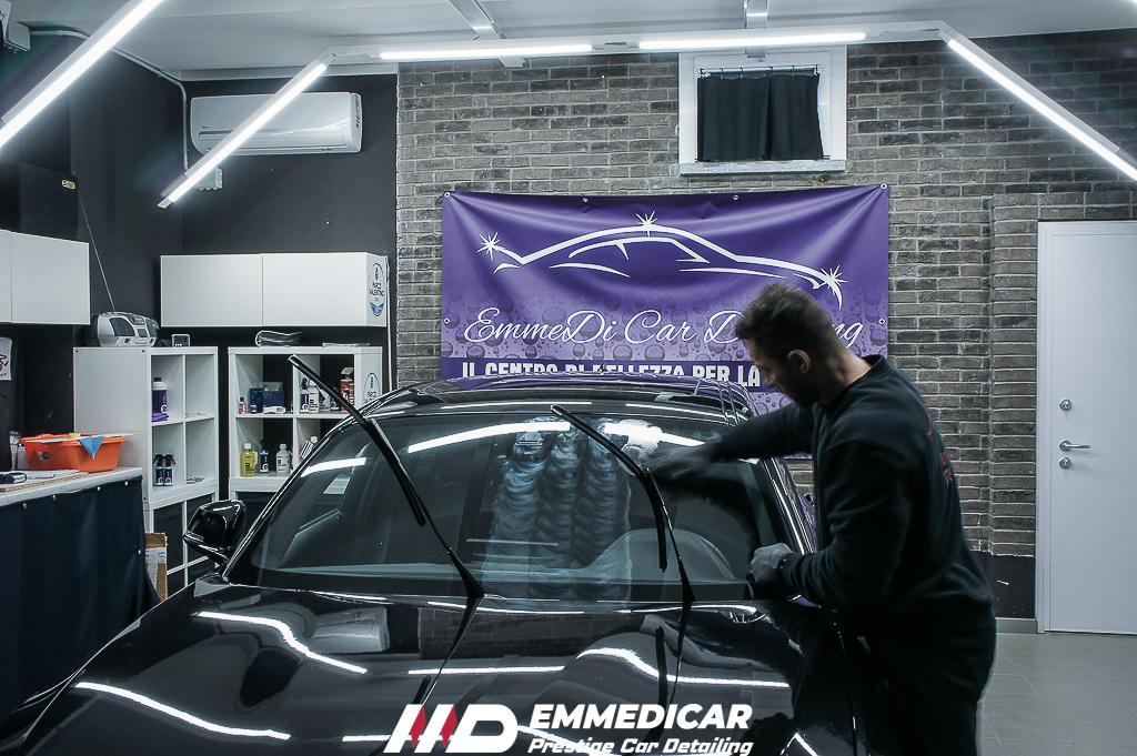 BMW SERIE1 120D, applicazione nanotecnologia vetri