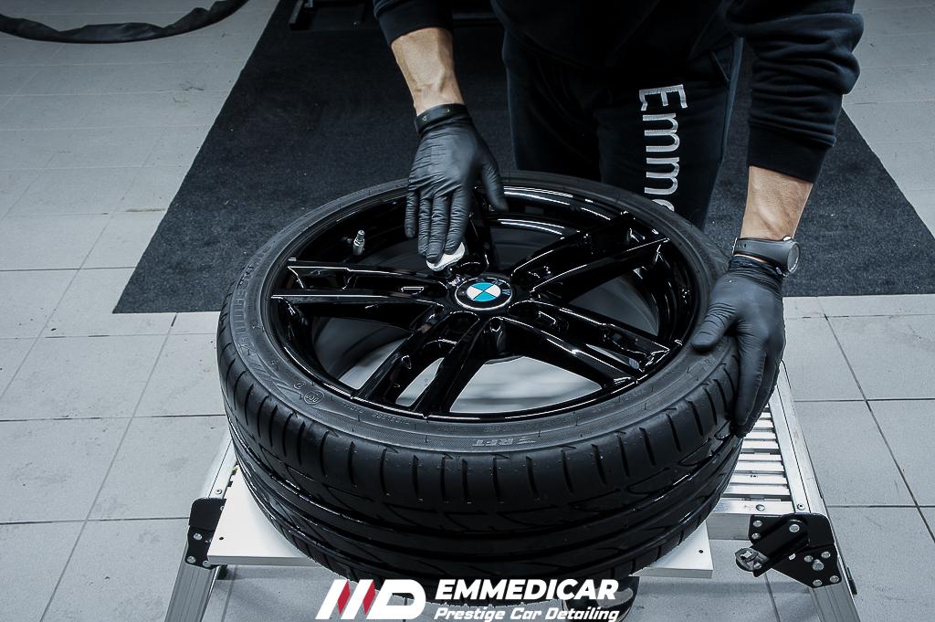 BMW SERIE1 120D, decontaminazione cerchi