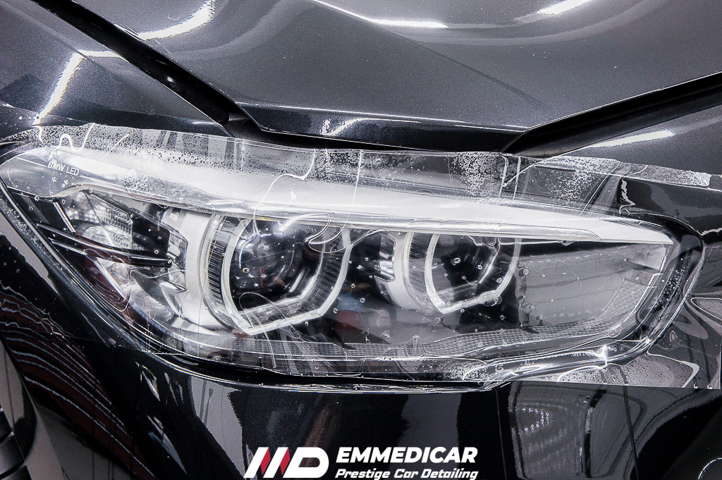 BMW SERIE1 120D, applicazione pellicola ppf