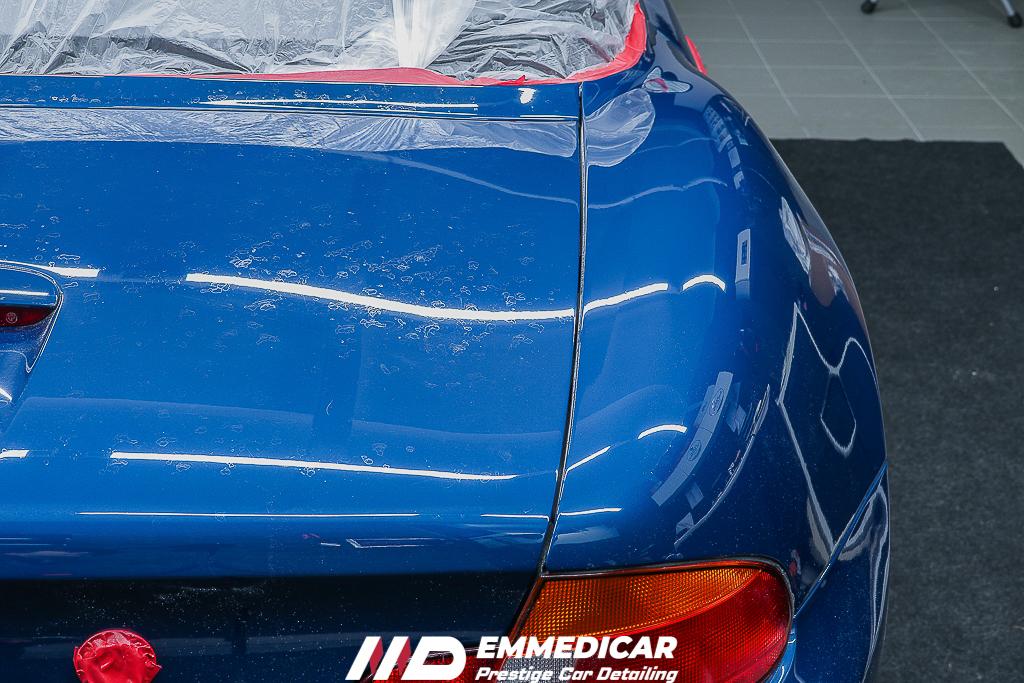 BMW Z3 ROADSTER, ELIMINAZIONE CALCARE