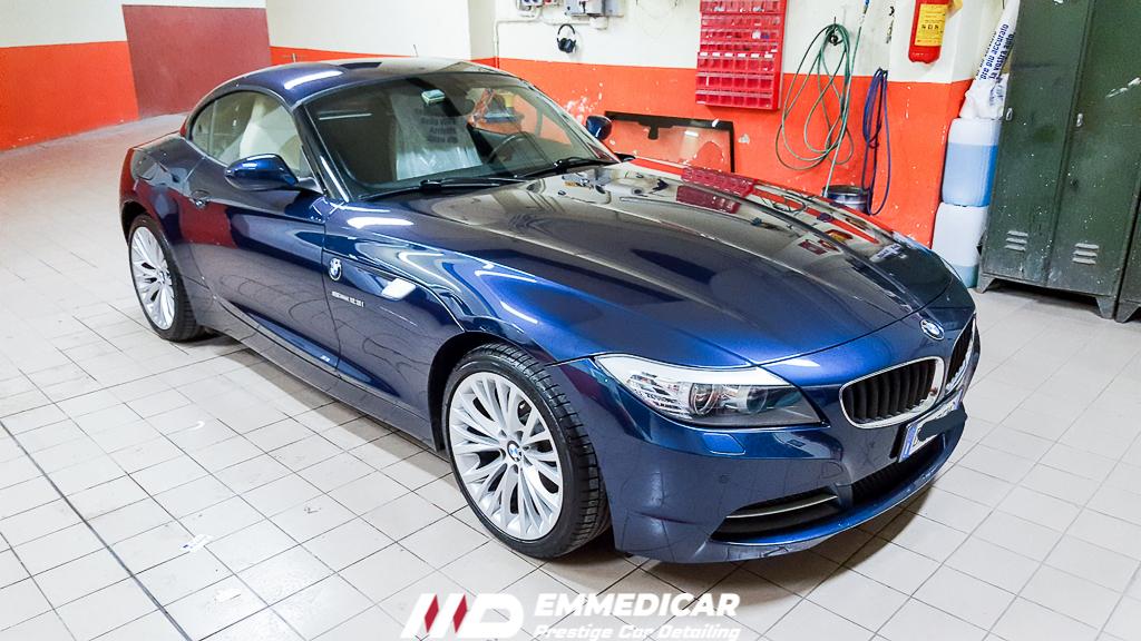BMW Z4 ROADSTER, risultato dopo car detailing,