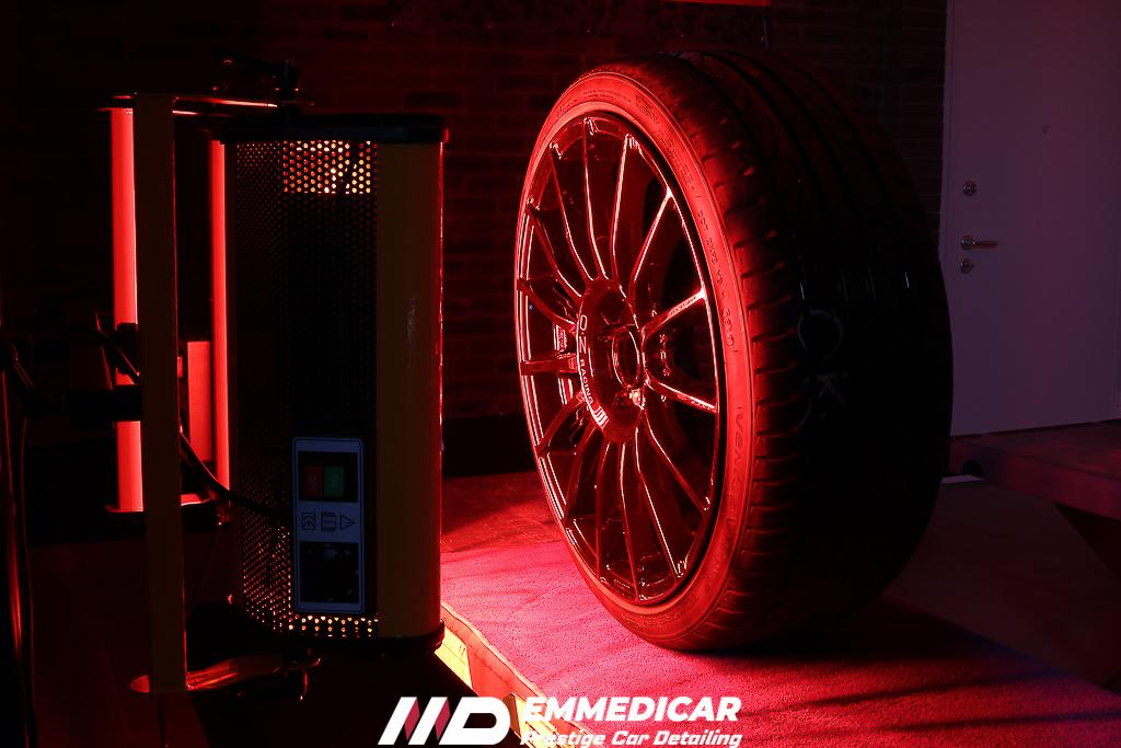 CERCHI OZ superturismo, lampada infrarossi cerchi auto