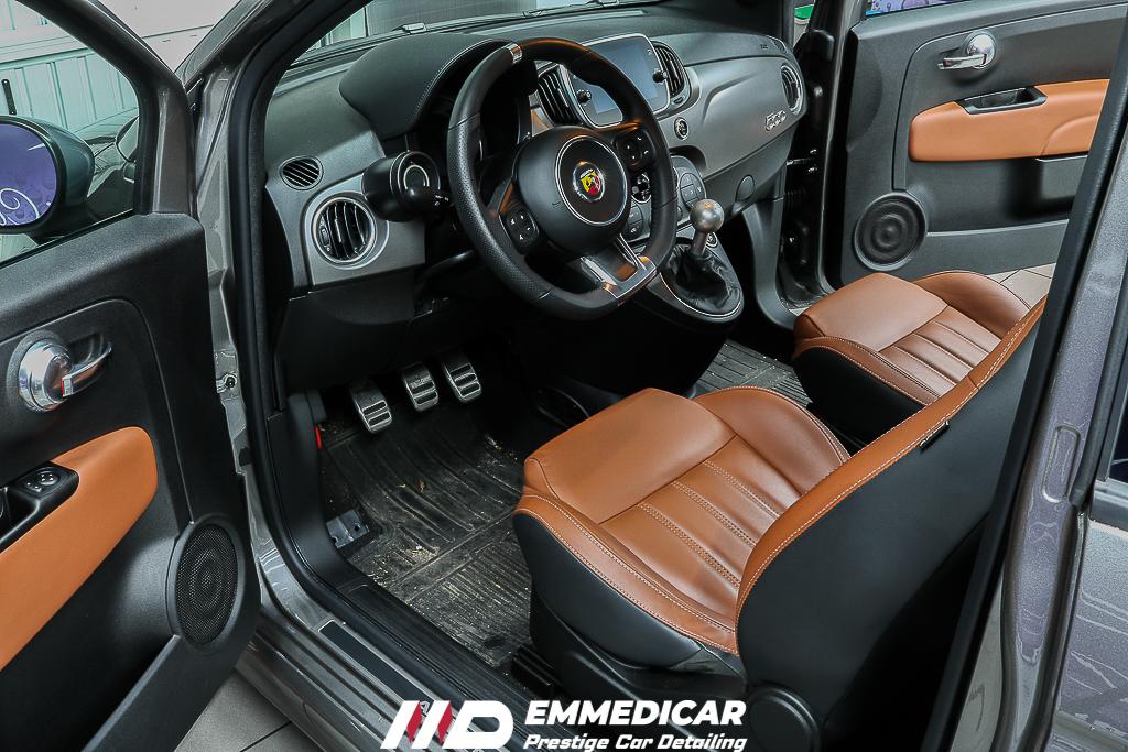 FIAT ABARTH 595 COMPETIZIONE, lavaggio