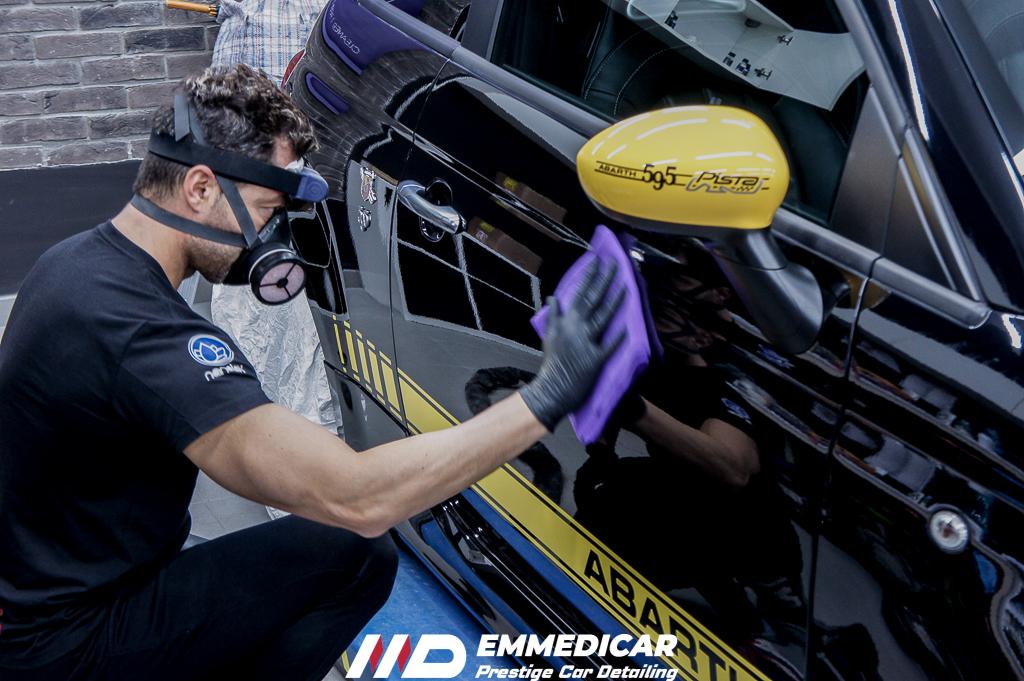 FIAT ABARTH 595 PISTA, applicazione nanotecnologia auto