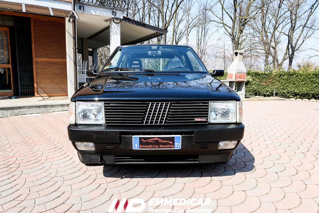 FIAT UNO TURBO I.E., risultato dopo car detailing,