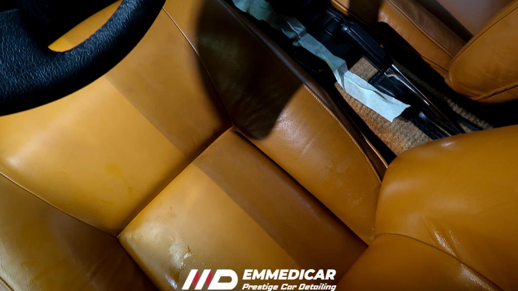 FIAT X1/9, trattamento pelle auto torino,