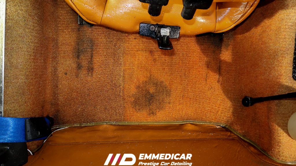 FIAT X1/9, sanificazione auto torino,
