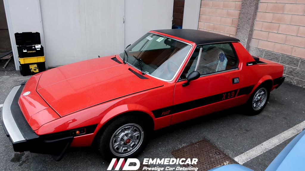FIAT X1/9, lavaggio torino,