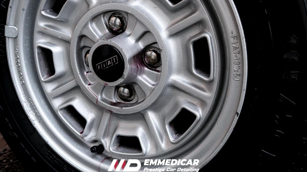 FIAT X1/9, decontaminazione iron remover auto,