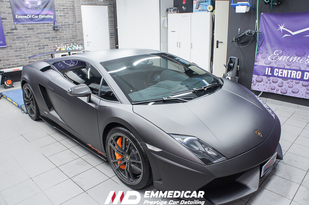 LAMBORGHINI GALLARDO SUPERLEGGERA, CAR DETAILING