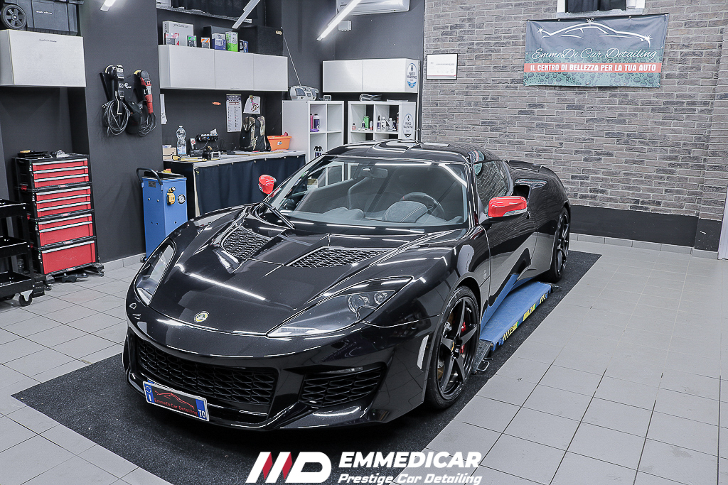 LOTUS EVORA 400, car detailing