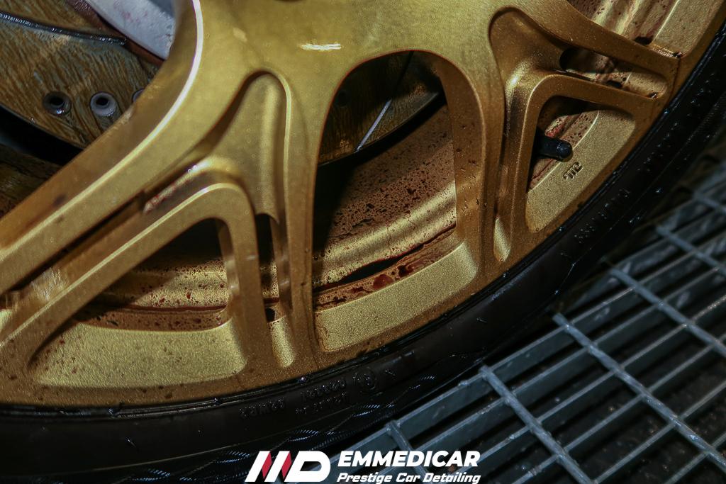 LOTUS EXIGE, decontaminazione iron remover auto,
