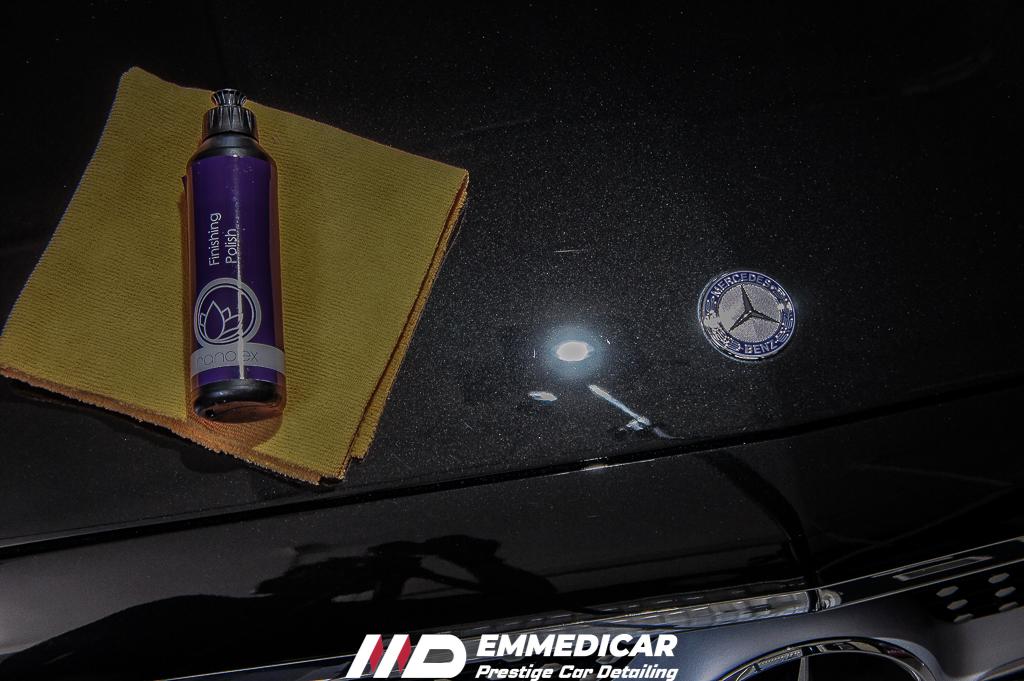 MERCEDES BENZ CLASSE E COUPE', LUCIDATURA SWIRLS AUTO