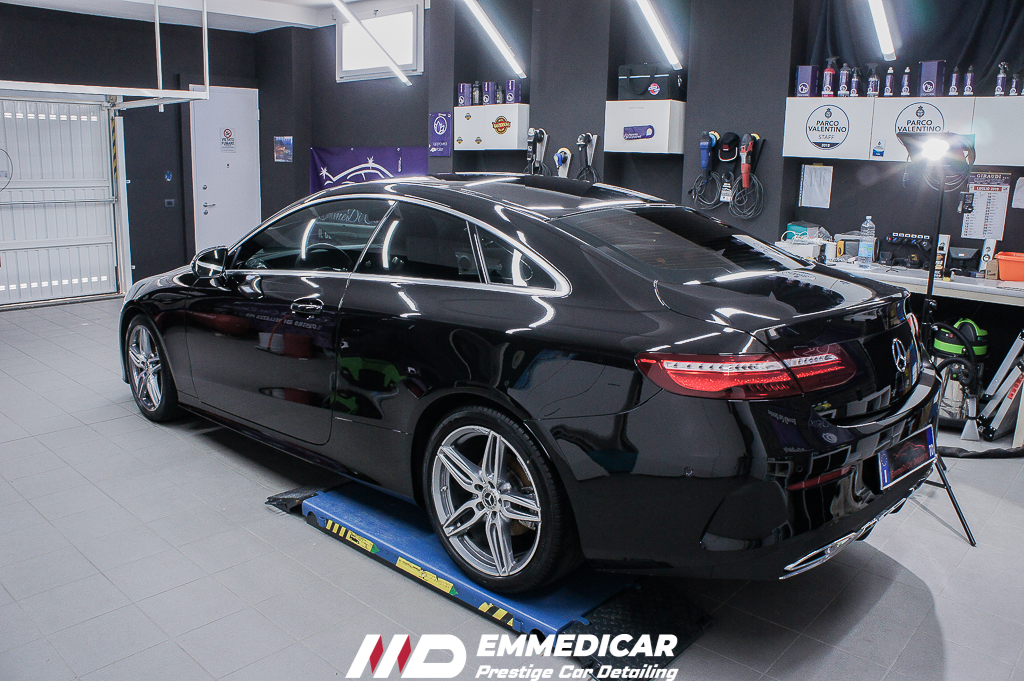 MERCEDES BENZ CLASSE E COUPE', CAR DETAILING