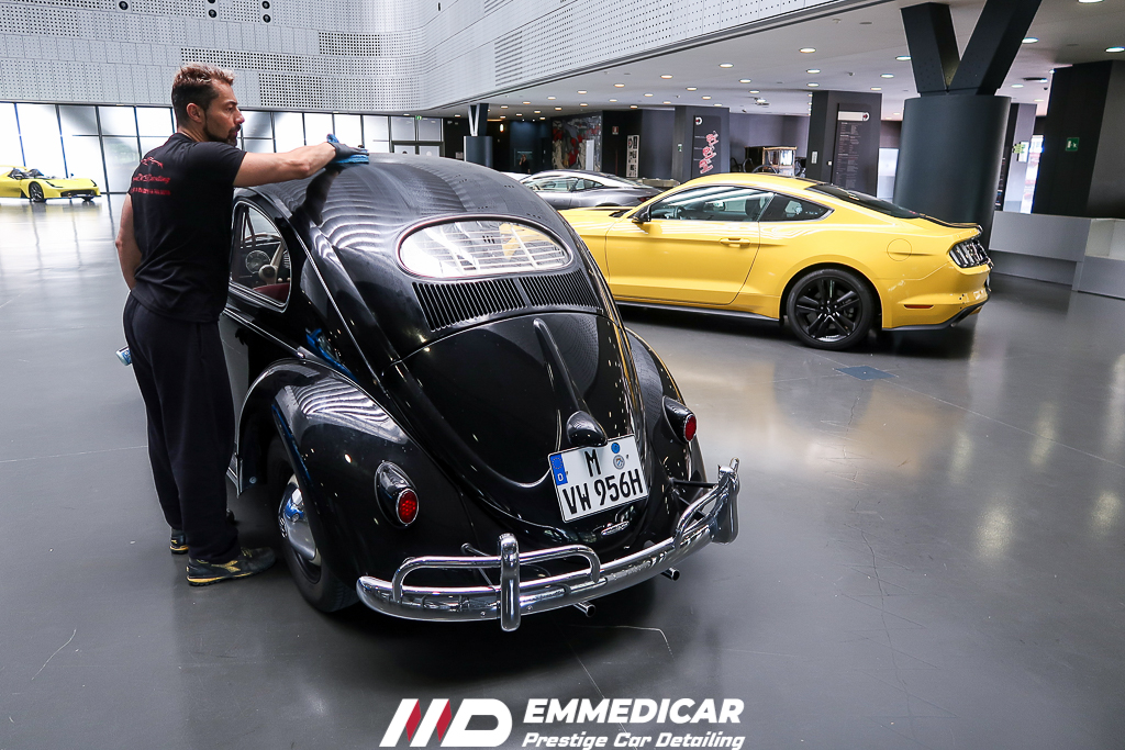 museo dell'auto torino, vw maggiolino,