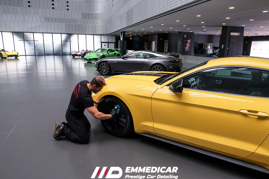 museo dell'auto torino, ford mustang,