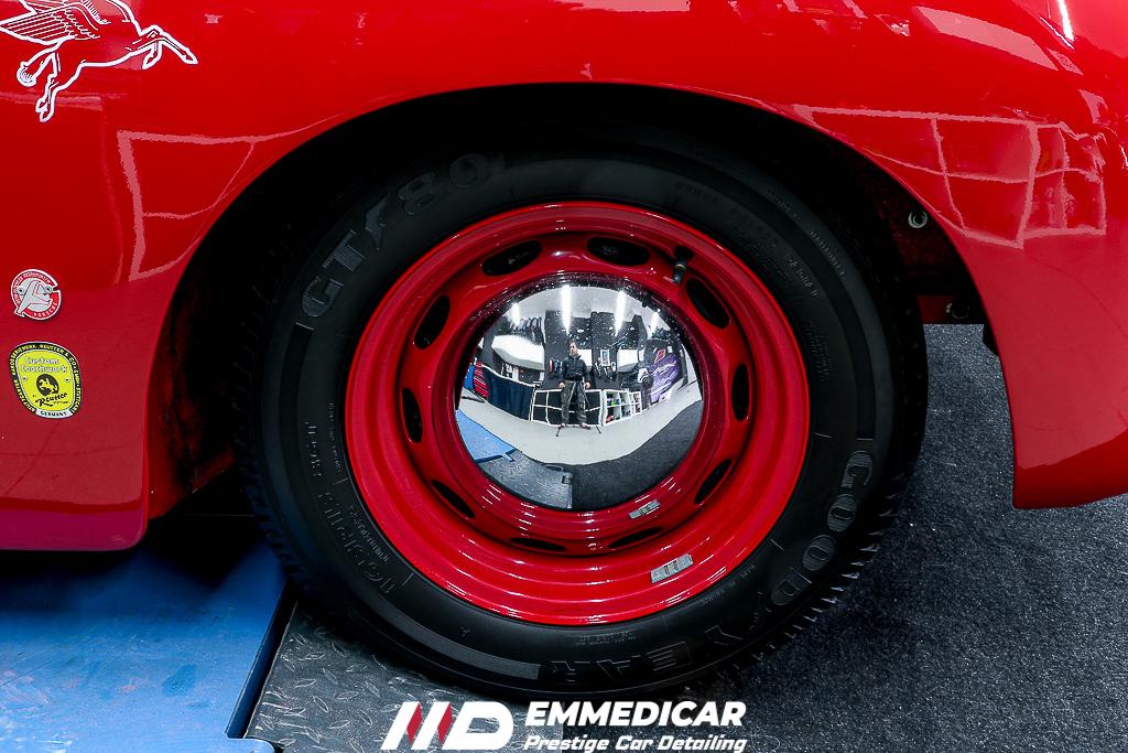 PORSCHE 356 A, car detailing