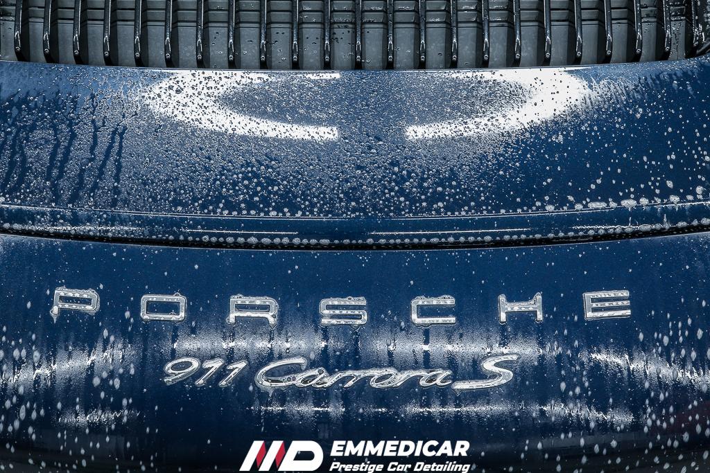PORSCHE 911 CARRERA S, lavaggio auto