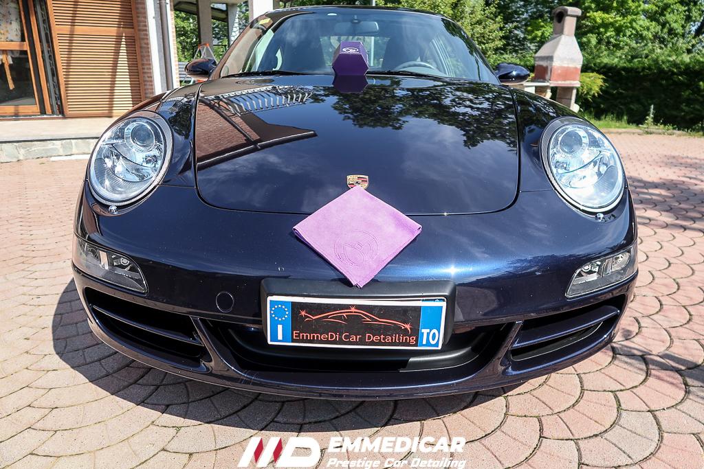 PORSCHE 997 CARRERA, risultato dopo car detailing,