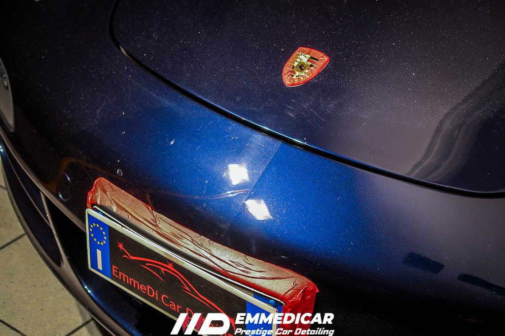 PORSCHE 997 CARRERA, rimozione graffi auto,