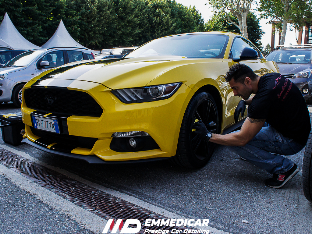 parco valentino 2019, ford mustang