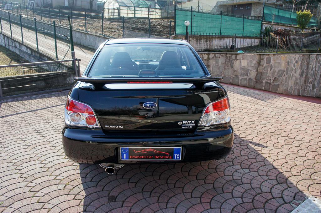 SUBARU IMPREZA WRX, CAR DETAILING