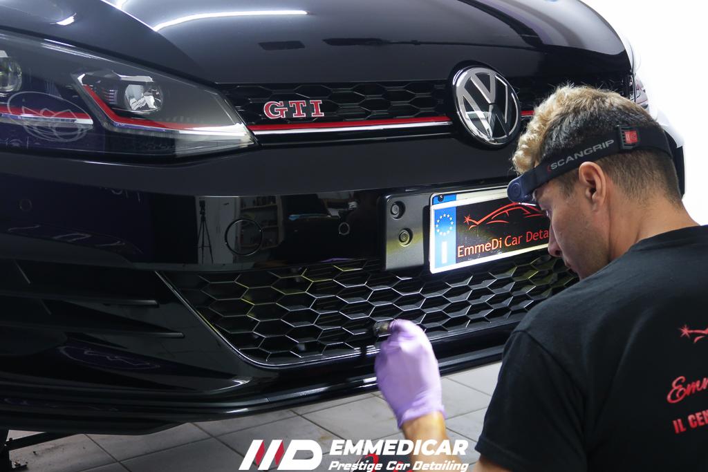 VW GOLF 7 GTI, ravvivante plastiche auto,